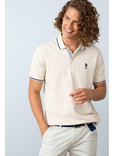 U.S.Polo Assn. Tişört Bej